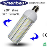 25W--bulbo do milho do diodo emissor de luz da lâmpada da estrada do diodo emissor de luz da iluminação de rua do diodo emissor de luz 55W