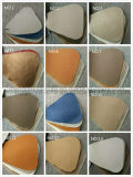 Sofá superior luxuoso do couro de grão (906#)