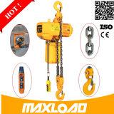 Портативная электрическая лебедка 100kg & 220V, миниая электрическая таль с цепью