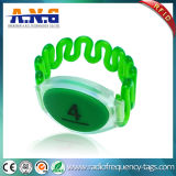 13.56MHz projetam Ntag213 o Wristband do silicone RFID