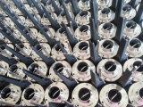 衛生学のステンレス鋼の蝶弁溶接された手動弁