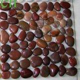 Heißer verkaufender gemischter flacher Kiesel-Stein des Fluss-2016 mit Mischfarben
