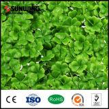 Cerca plástica artificial verde protegida ULTRAVIOLETA del jardín de la hoja de la HIEDRA de Sunwing