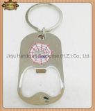 Synthetisches Enamel mit Printing Silver Metal Key Chain Keychain (JINJU16-022)