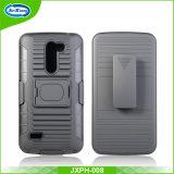 Caixa combinado do telefone do Holster da armadura de anel para LG X190
