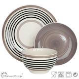 Sistema de cena de cerámica del círculo simple de la tolerancia