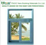 Producten Pnoc110407ls van China van de Invoer van het Venster van het Glas van het Frame van het aluminium de Glijdende