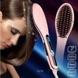 3in1 elektrischer Digitalanzeigen-Haar-Strecker-Kamm-Pinsel