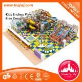 Лабиринт спортивной площадки детей форта крытой мягкой спортивной площадки капризный