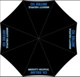L'ombrello di golf con il marchio della forgia/con progetta