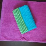 ヤーンによって染められるテリータオルの浴室タオルの表面タオル手タオル