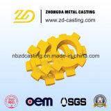 CNC che lavora con l'acciaio legato che timbra per i pezzi di ricambio
