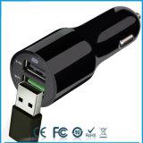 휴대용 빠른 충전기 QC2.0는 충전기 USB 차 이중으로 한다