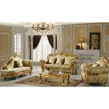 Sofá da sala de visitas com a tabela lateral para a mobília Home (D619D)