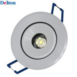 lámpara redonda del techo de 1W Dimmable LED (DT-TH-1B)