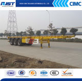 40t Three Axle Skeleton Semi Trailer