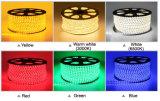 AC220V imprägniern SMD5050 LED Streifen-Beleuchtung im warmen Weiß