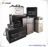 Nachladbare gedichtete Leitungskabel-saure Solarbatterie 12V55ah für Energie Yemen