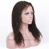 """180% 24 """" - 30 """" longues pleines perruques #4 de lacet de cheveux humains"""