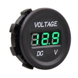 De Aansteker USB Sockets Adapter Charger van de auto 12V 2 met Digital LED Voltmeter