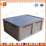 Caixa plástica do recipiente do indicador do transporte do supermercado da capacidade elevada (ZHtb38)