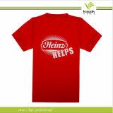 T-shirts imprimés par coton bon marché en gros de Customzied (KY-T016007)