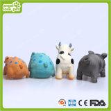 Brinquedos manchados 22cm do animal de estimação do porco do brinquedo do látex (HN-PT418)