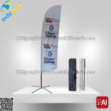 Strand-Feder-Schaufel-Aluminiumpole-Markierungsfahne