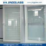 Fábrica inferior de plata doble revestida del vidrio de la seguridad E de la construcción de edificios del OEM