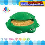Jardin d'enfants en plastique de jouets d'enfants de plaque de l'eau de sable de tortue de jeu d'amusement de jardin (XYH-12084-3)