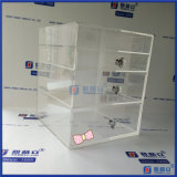 China Factory Clear Acrílico Makeup Case