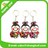 PVC Rubber Key Chain do costume 3D para Promotion (SLF-KC013)