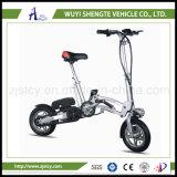 "2015 adulto verde caliente 12 "" Ebike plegable de la energía de la venta 250W 36V 10ah 350W"