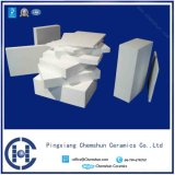 92% Abnützung-Keramikziegel-Futter der Tonerde-Al2O3 mit glatter Oberfläche