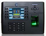 Service et contrôle d'accès biométriques de temps d'empreinte digitale avec le WiFi (TFT900/WiFi)