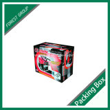Caixa de empacotamento impressa personalizada do papel ondulado (FP006)