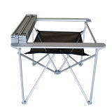 ألومنيوم [بورتبل]/طاولة خارجيّ (مع براءة اختراع)