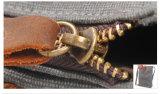 Sacchetto di spalla lavato di acquisto e di svago della tela di canapa (RS-6833)