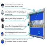 Porte à grande vitesse d'obturateur de rouleau de tissu avec le PVC importé