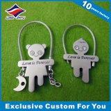 Porte-clés en métal personnalisé pour cadeau de promotion souvenir