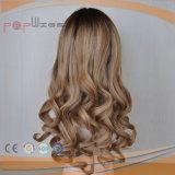 Reizend blonde Omber Farben-dunkle Wurzel-volle europäische Haar Yaffa Perücke