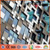 Ideabond kreative Entwurfs-mehrfache Farben-mischendes dekoratives Aluminiumpanel