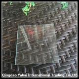 verre de flotteur d'espace libre de 4mm avec le bord droit Polished