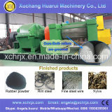 ゴム製粉/微粒を作るのに使用される機械をリサイクルするタイヤ