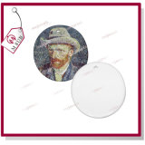 Sublimação personalizada Printable Porcelana Round Ornament