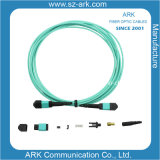 Mpo-MPO Fiber Optic Patch Cord voor Ian CCTV