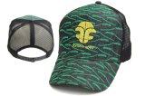 Sombrero del camionero del casquillo de la alta calidad con la etiqueta reflexiva 3D del logotipo