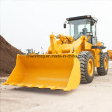 Articulated Chassis를 가진 정면 Shovel Loader