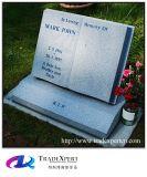Tipo di pietra Headstone del libro di coltivazione a frana della natura del granito