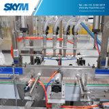 machine du remplissage 3L/5L/10L mis en bouteille par boisson automatique trois dans une